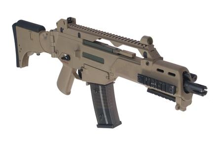 armament: Modern weapon. German army assault rifle G36.