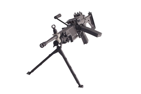 infantry: infantry machinegun isolated