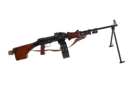 machine-gun: geïsoleerd machinegeweer