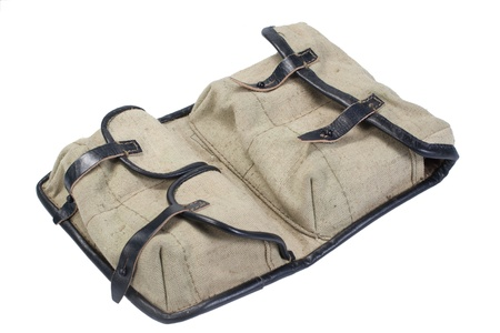 counter terrorism: soviet army svd ammo pouch - bag for ammo Stock Photo