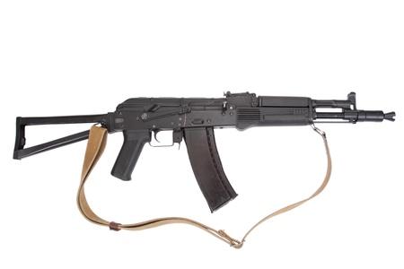 akm: Kalashnikov AK isolated
