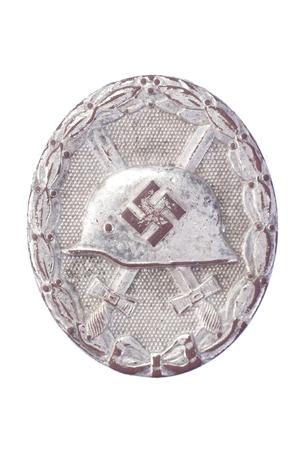 Silver Wound Badge - German military award photo