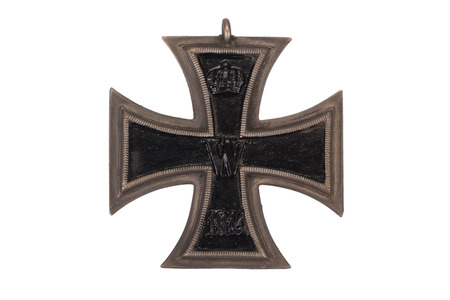 WW1 Deutsch Medaille Iron Cross Standard-Bild - 25845606