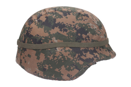kevlar: us marines kevlar helmet with camouflage cover