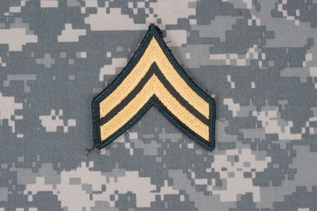 corporal: us army uniform with corporal rank patch