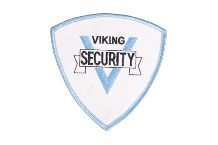 security officer uniform shoulder patch photo