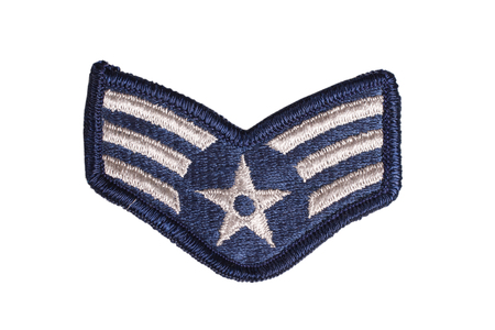 us air force sergeant rank patch photo
