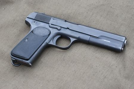 old Browning hand gun