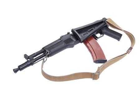 airborn: modern assault rifle kalashnikov ak105 Stock Photo