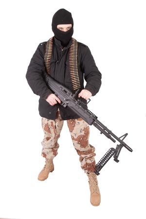 gunner: terrorist with m60 machine gun