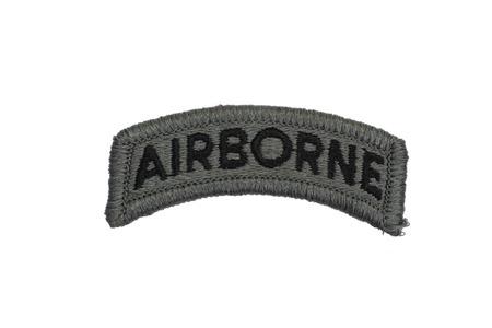 US ARMY airborne badge isolated photo