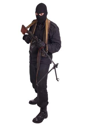 mercenary: mercenary with RPD 44 machine gun