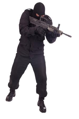 mercenary with l85a1 rifle
