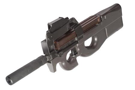 submachine gun P90