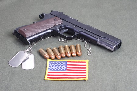 45 gun:  government m1911