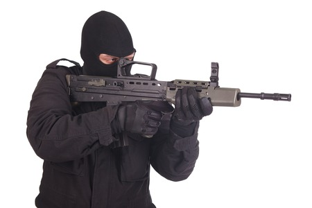 mercenary: mercenary with l85 rifle
