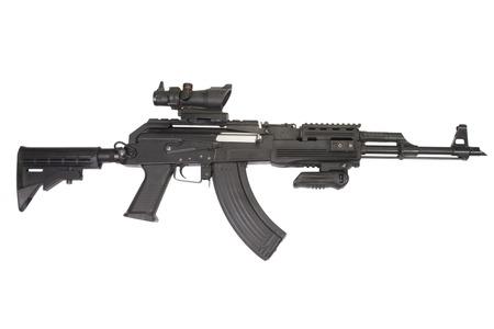 akm: Modern AK47 with tactical accessories