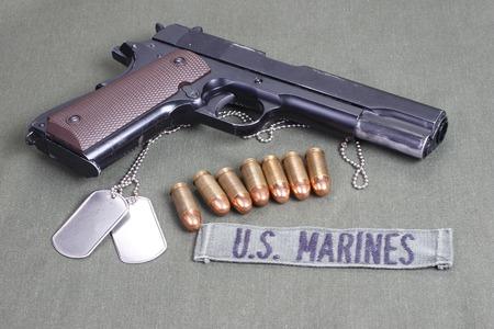 45 ammo:  government m1911