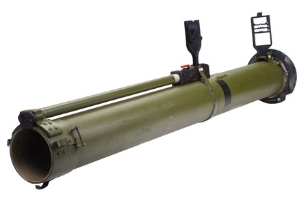 anti-tank rocket propelled grenade 免版税图像
