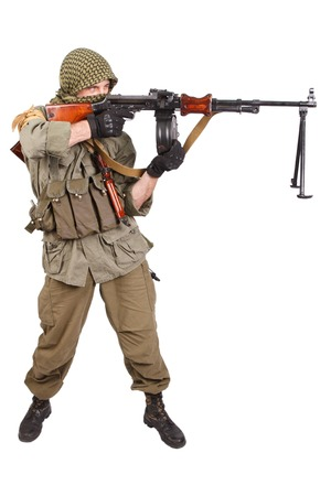 to rebel: rebel with machine gun
