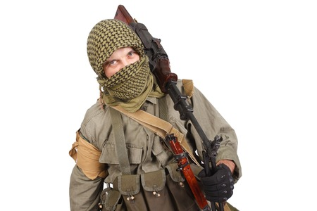 akm: rebel with machine gun