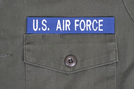 us air force: us air force uniform Stock Photo