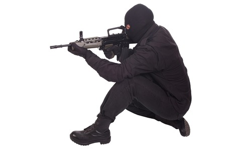 mercenary: mercenary with l85a1 rifle