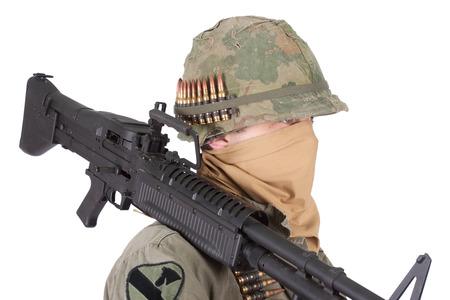 gunner: us army soldier vietnam war period