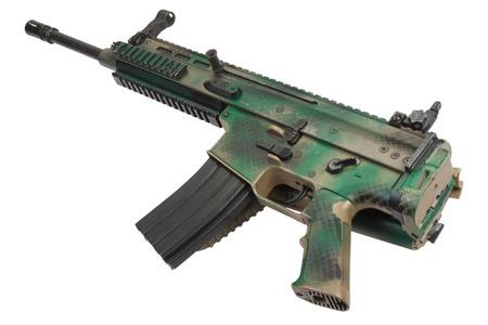 assault: Modern Assault Rifle isolated on white
