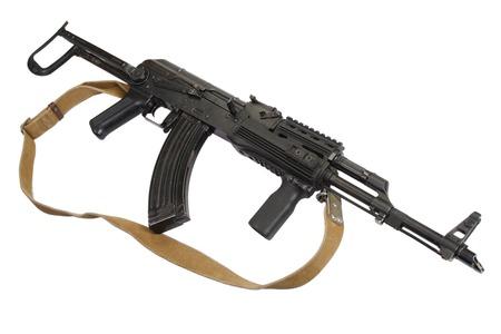 ak47: AK-47 isolated on white Stock Photo