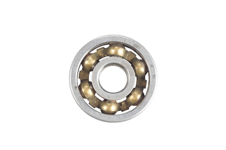 bearing: steel bearing isolated on a white background