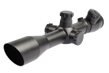 sniper: modern sniper scope isolated