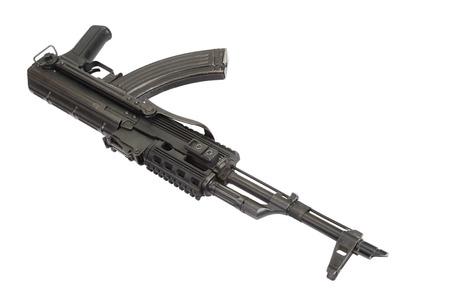 ak47: Kalashnikov AK-47 isolated on white
