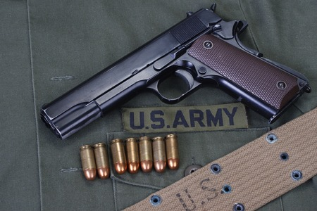 m1911 with us army uniform