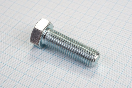 graph paper: Screw on graph paper background