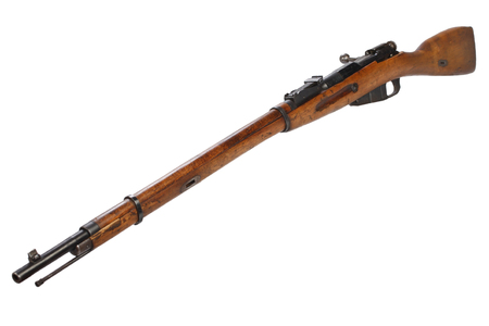 Russian ww1 period Mosin-Nagant rifle isolated on white Stock fotó