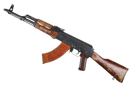 AK - 47 (AKM) assault rifle Stock Photo