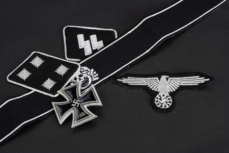 WW2 German Waffen-SS military insignia