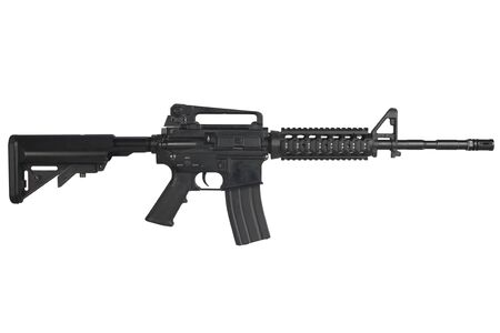 M4 carbine isolated on a white background Stock fotó