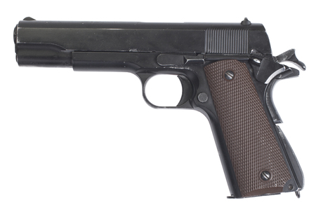 colt government M1911 isolated