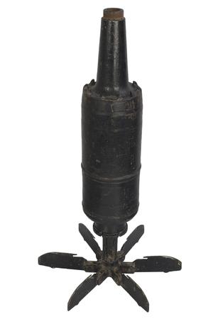 125mm USSR Tank HEAT Projectile 版權商用圖片