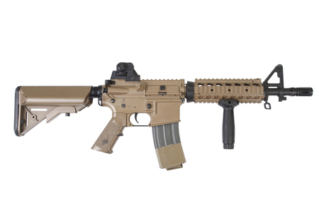special forces carbine isolated on a white background