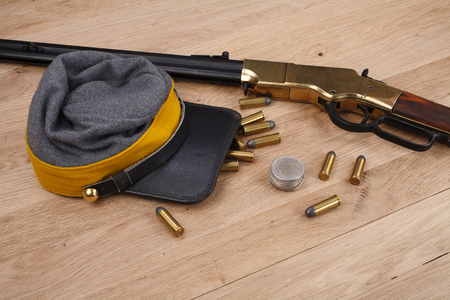 Civil War period repeating rifle