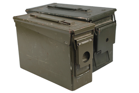Ammo Can isolated