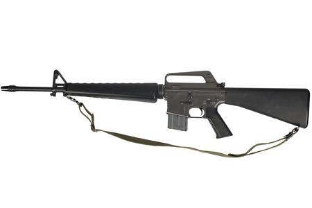 M16 rifle with 20-round magazine Vietnam War Foto de archivo