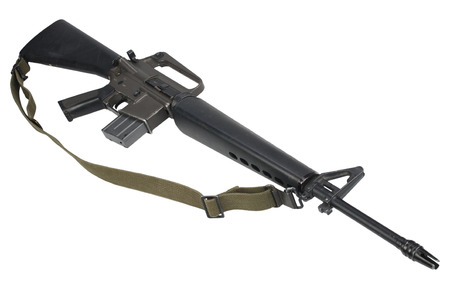 M16 rifle with 20-round magazine Vietnam War Banco de Imagens