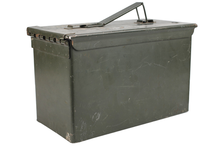 Ammo Can isolated on white background