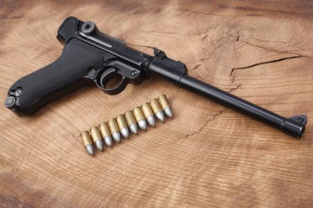 World War I period german army handgun on