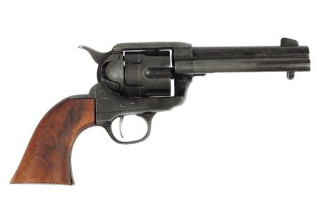 Far west revolver - Colt single action army isolé sur fond blanc