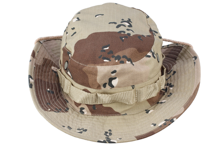 boonie hat isolated Stock Photo